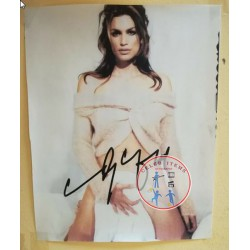 CINDY CRAWFORD SIGNED PHOTO