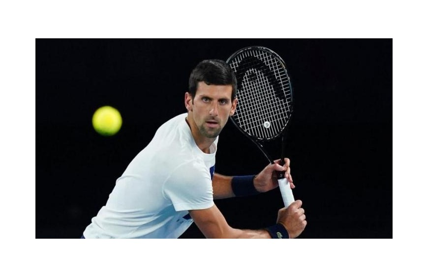 Djokovic and other tennis players test positive for Covid-19 in exhibition tournament in Belgade.