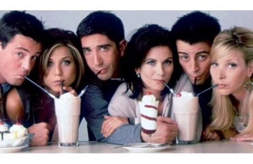 Back TV serie Friends: