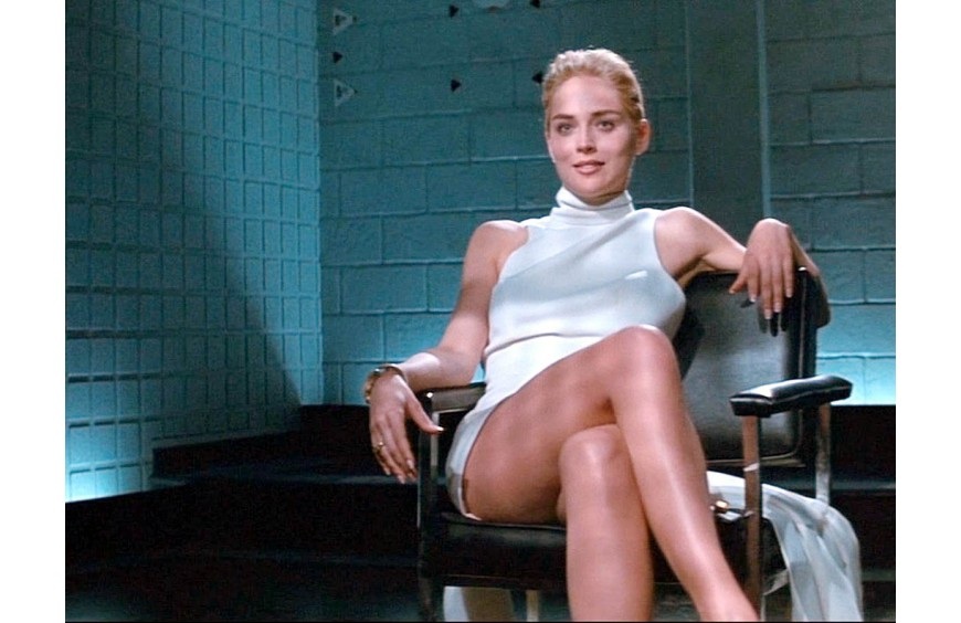 SHARON STONE CLAIMS SHE WAS TRICKED TO REMOVE UNDERWEAR IN BASIC INSTINCT SCENE