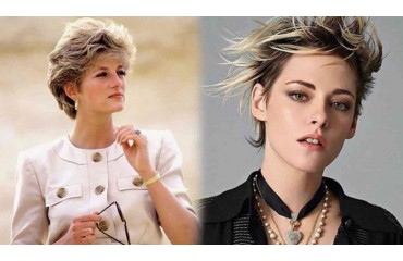 KRISTEN STEWART, NAILED TO LADY DI IN A NEW PHOTO OF THE FILMING OF HER BIOPIC