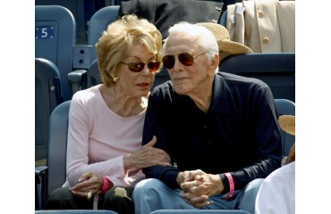 Kirk Douglas' admired widow Anne dies at 102