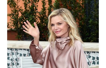 MICHELLE PFEIFFER SHOWS OFF SWEAT AND LAUGHS WHILE TRAINING TO SHOOT HER NEXT FILM WITH MARVEL