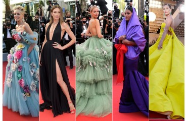 THE 'LOOKS' OF THE 2021 CANNES FESTIVAL: ELEGANCE AND FILM AT LA CROISETTE