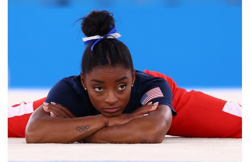'Sometimes it's difficult': Simone Biles withdrew from the team final in Tokyo